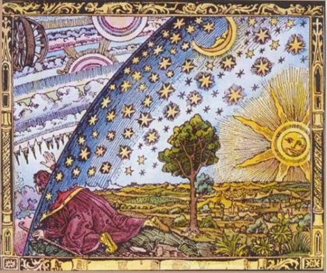 Camille Flammarion, gravure sur bois/woodcut !